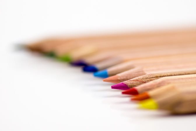 Using colours in your CV