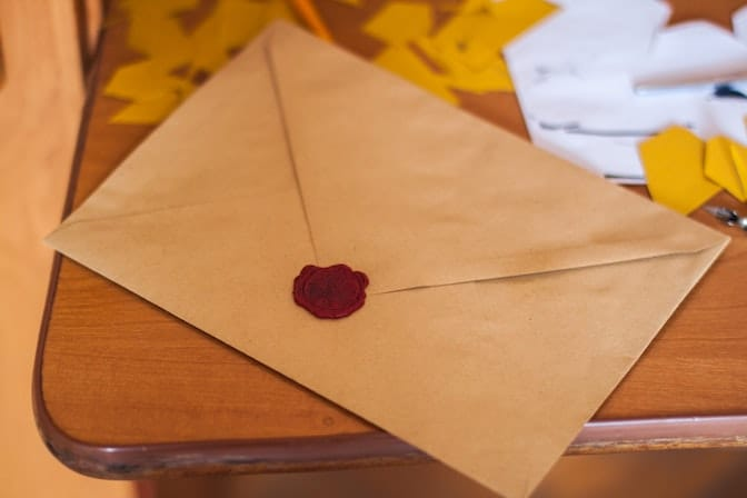The thank-you note is part of the selection process